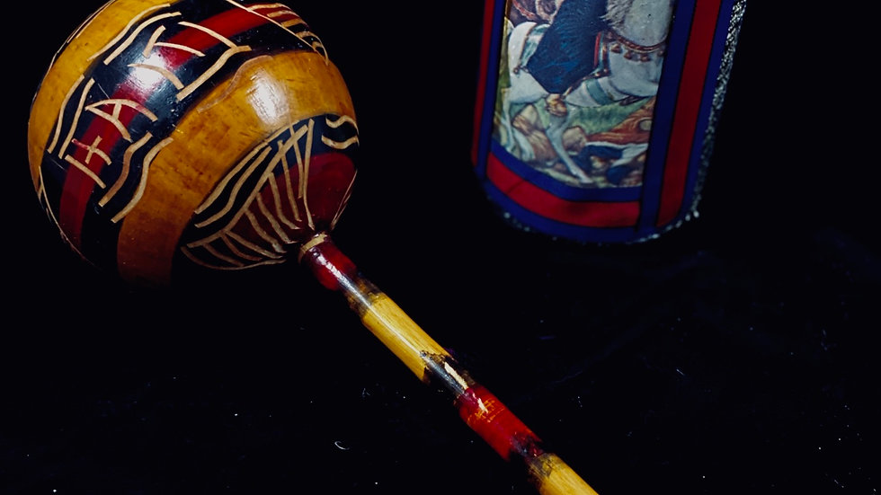 Kwa kwa, Haitian Vodou Rattle