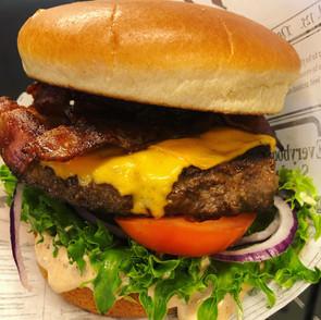 Bacon/Cheese högrevsburgare