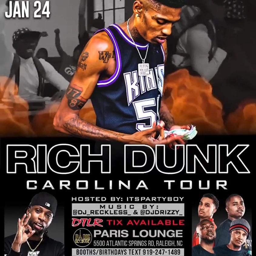 Rich Dunk Carolina Tour