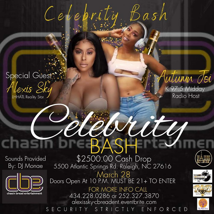 Celebrity Bash with Alexis Sky and Autumn Joi