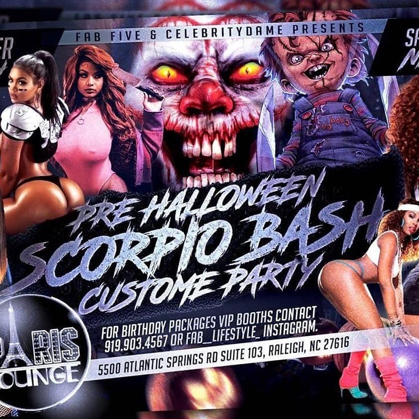 Pre Halloween Scorpio Bash Costume Party