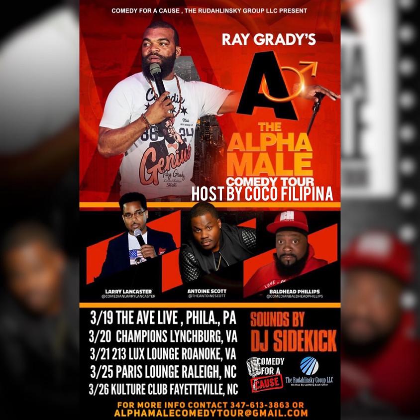 The Alpha Male Comedy Tour