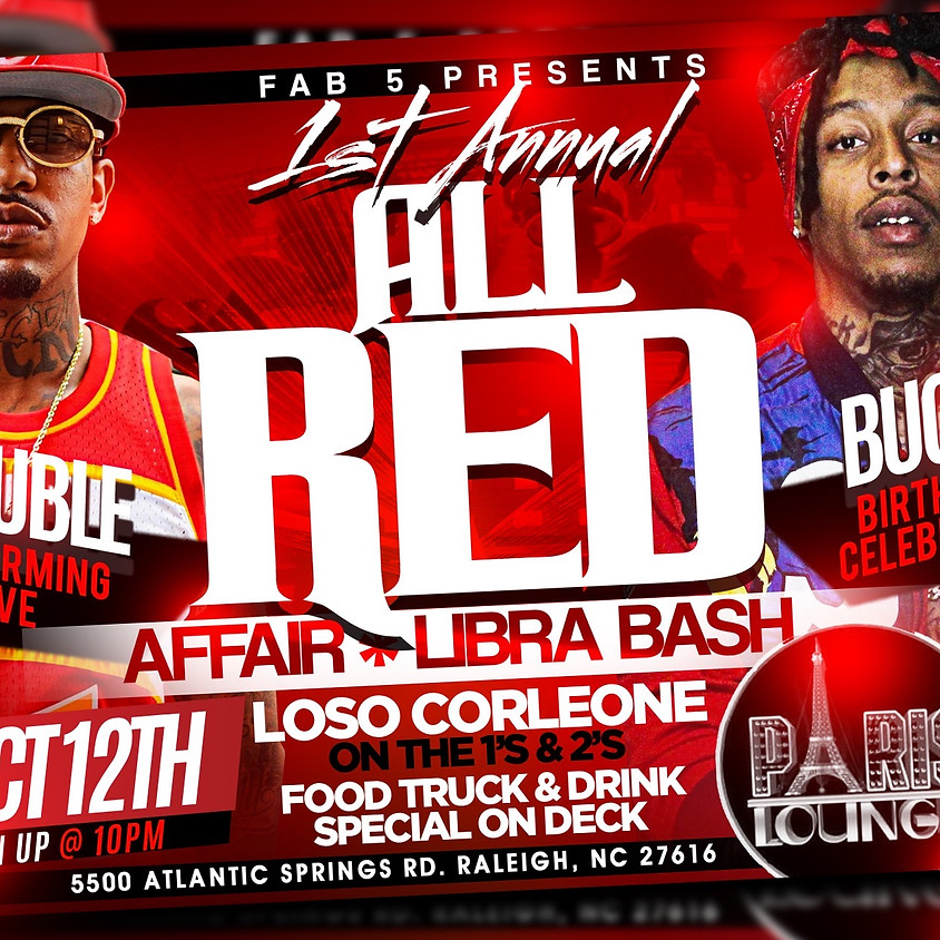 All Red Affair featuring Trouble (Performing Live) Libra Birthday Bash