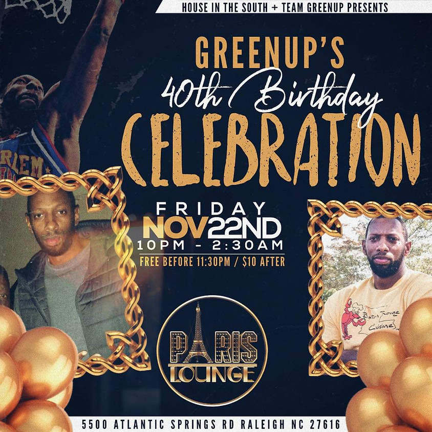 GreenUp's Bday Celebration