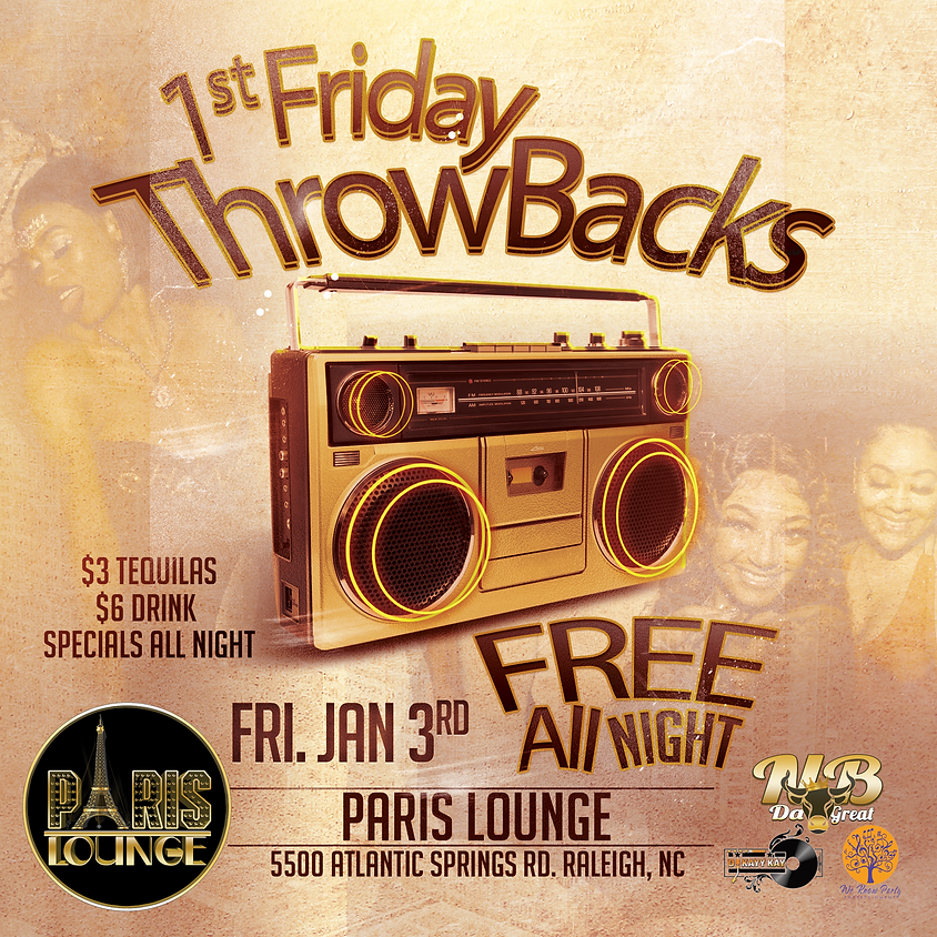1st Friday Throwbacks