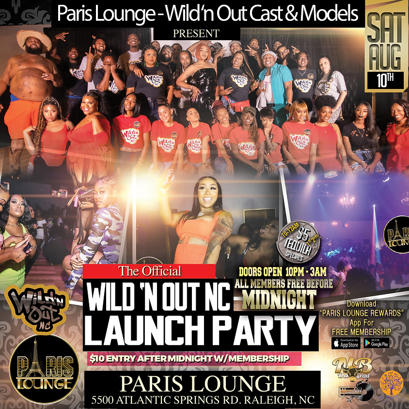Wild 'n Out NC Launch Party