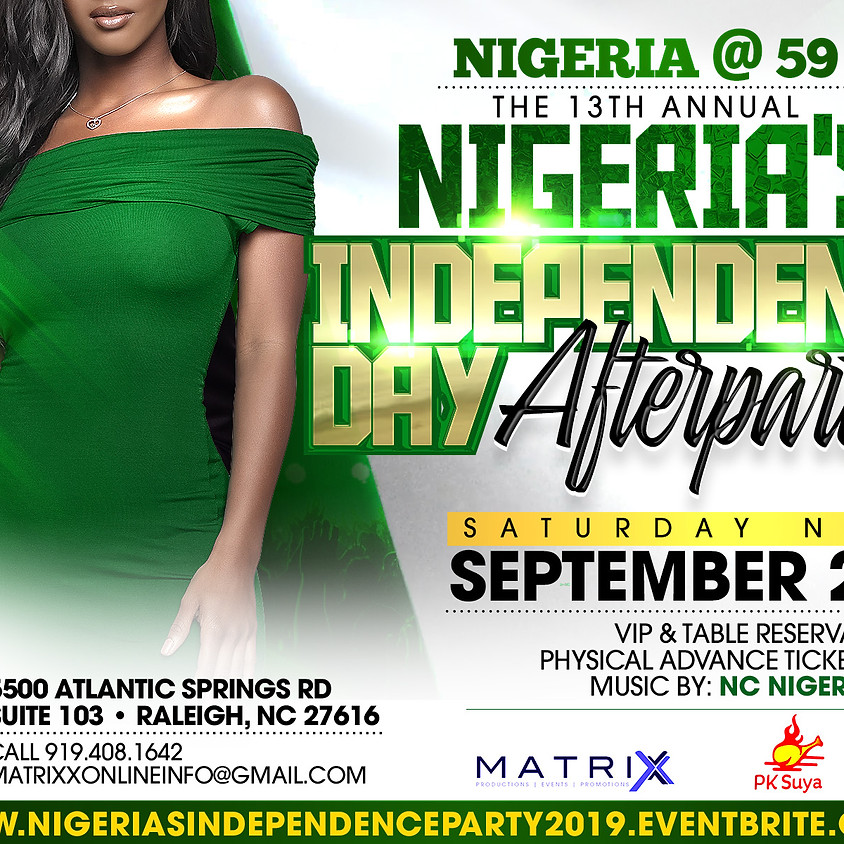 Official Nigerian Independence After Party