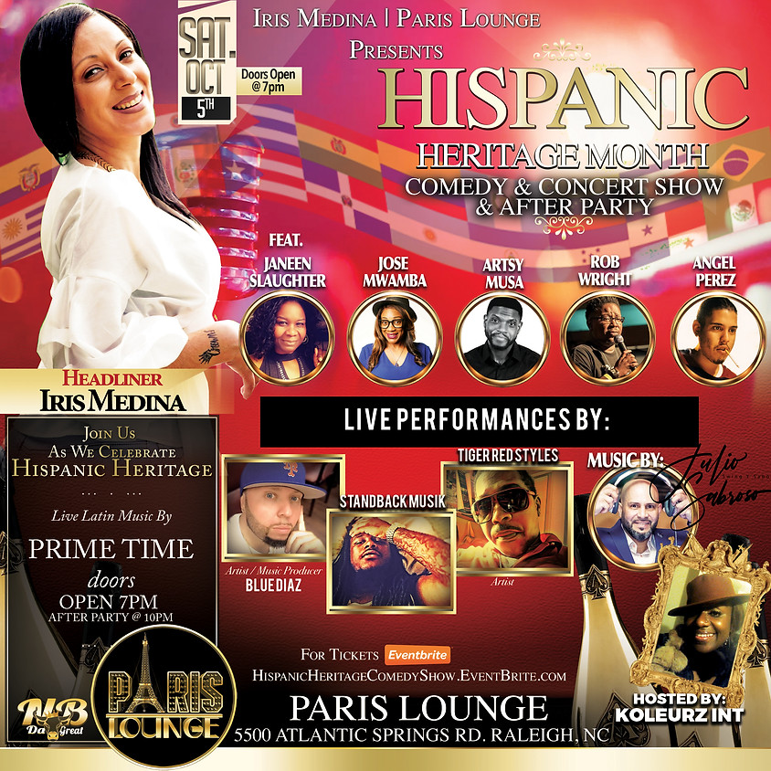 Hispanic Heritage Comedy Showcase