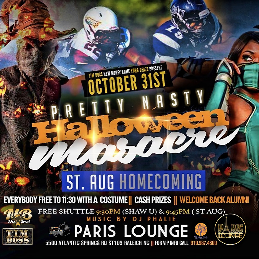 Halloween & Homecoming Costume Party