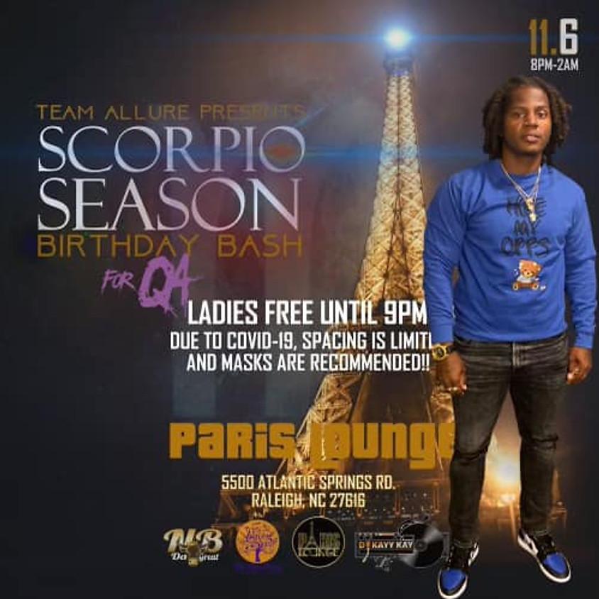 Scorpio Season Birthday Bash