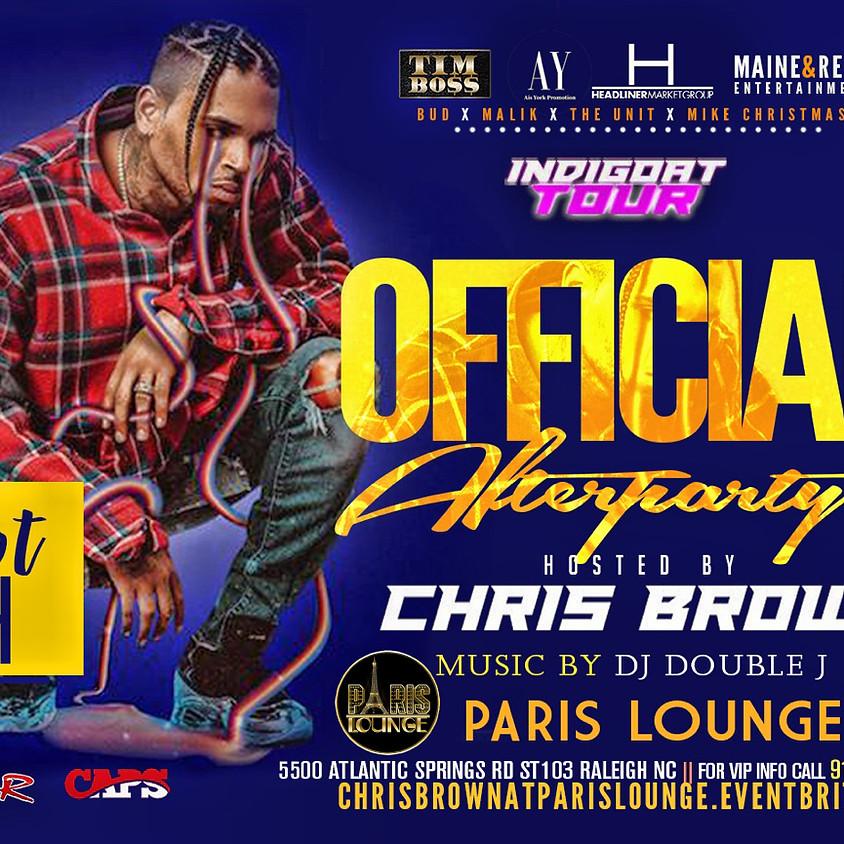 Chris Brown At Paris Lounge