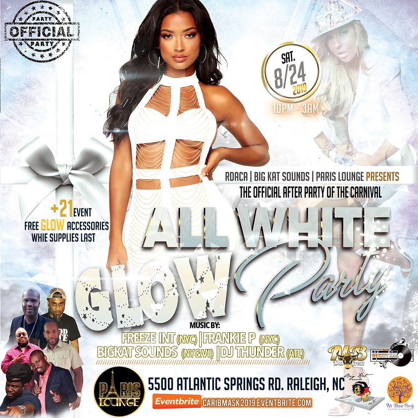 All White Glow Party (Official After Party of Carnival)