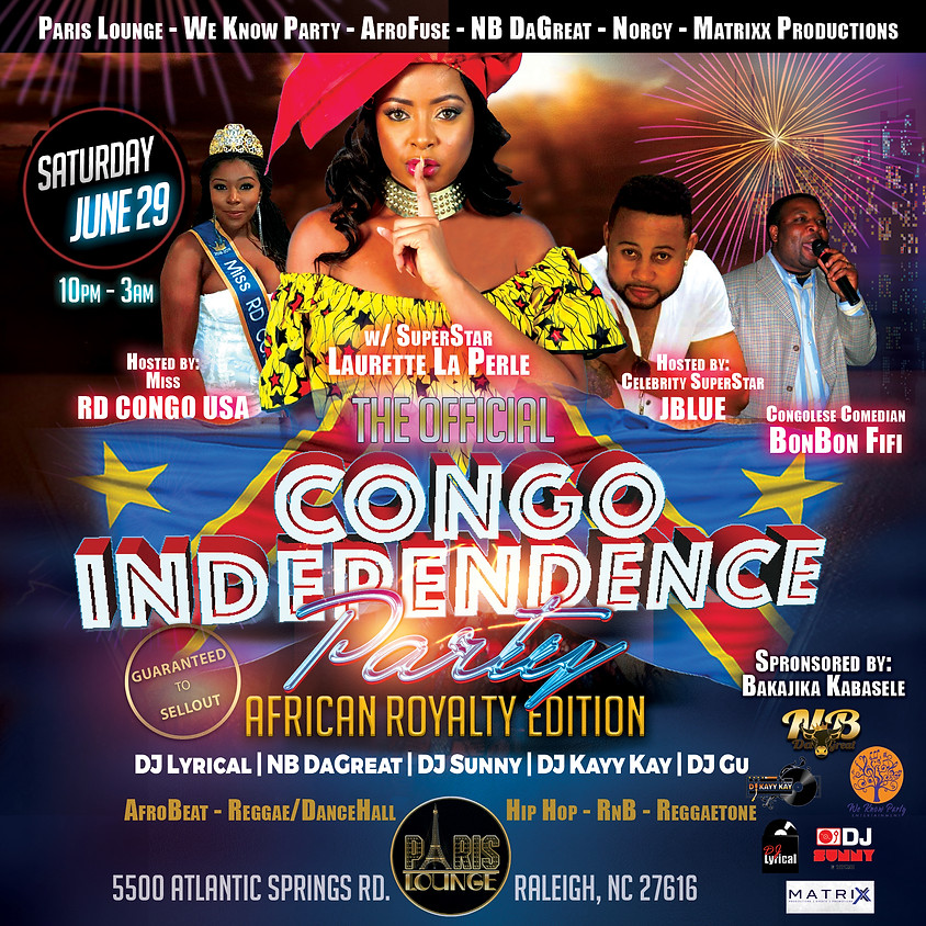 Official Congo DRC Independence
