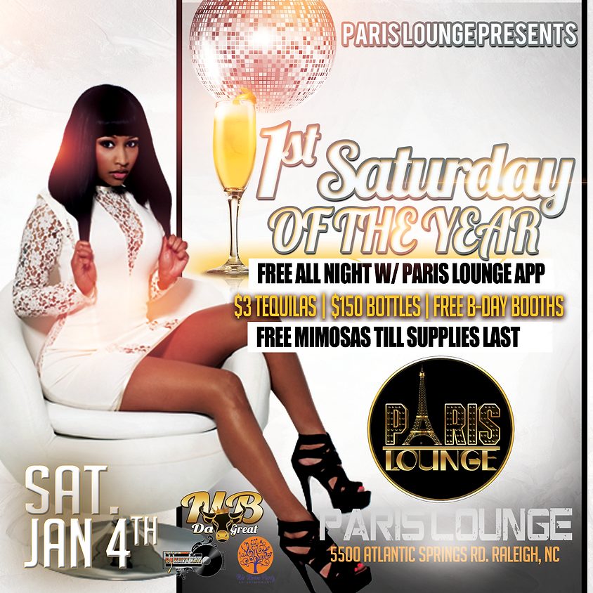 1st Saturday of The New Year