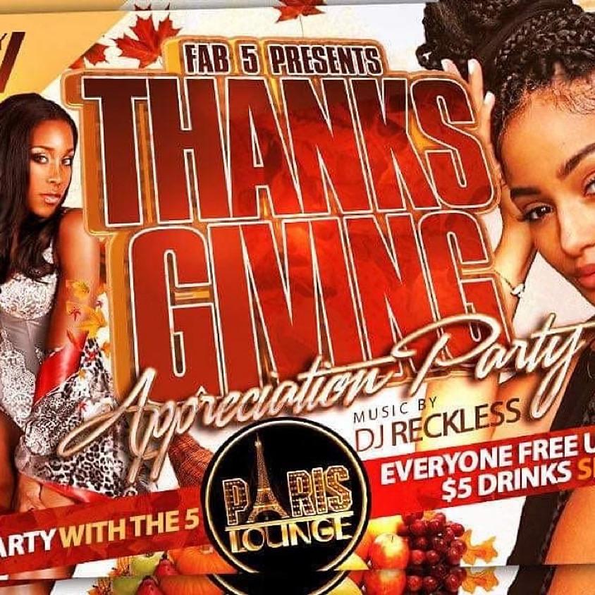 ThanksGiving Appreciation Party