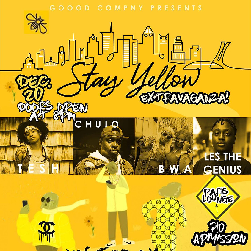Stay Yellow Extravaganza Music Showcase and After Party