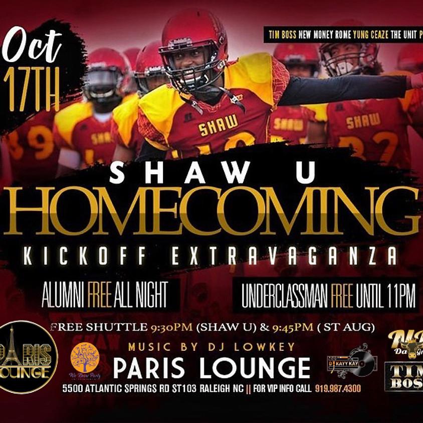 Shaw U Homecoming KickOff Extravaganza