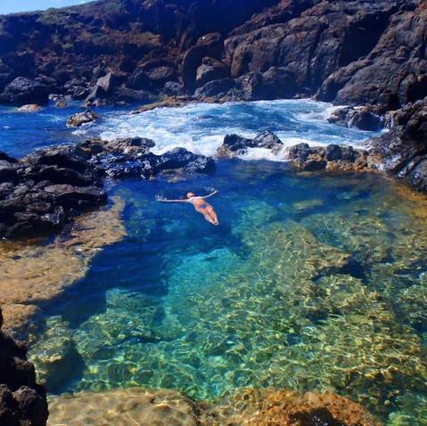 """Swim in """"the Baths"""" at Culebrita!"""