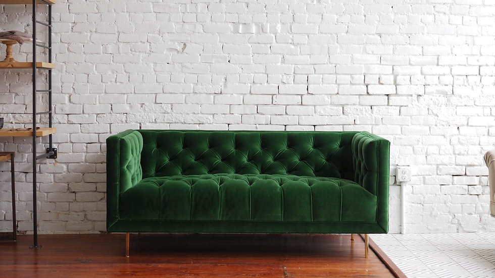 EMMY SETTEE | Now available at Birch and Brass