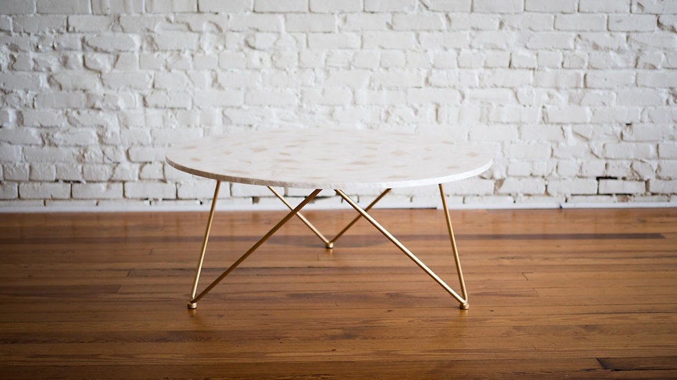 CORA COFFEE TABLE | Now available at Birch and Brass
