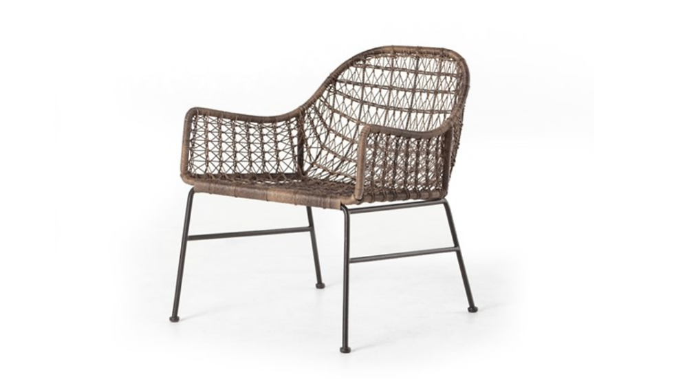 MYLES WOVEN CLUB CHAIR | Now available at Birch and Brass