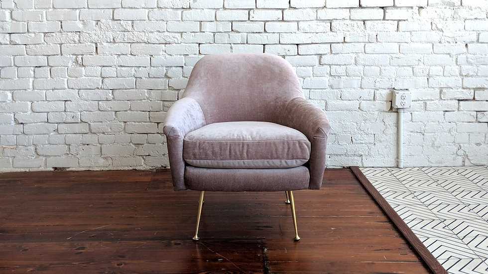 CHLOE LOUNGE CHAIR | Now available at Birch and Brass
