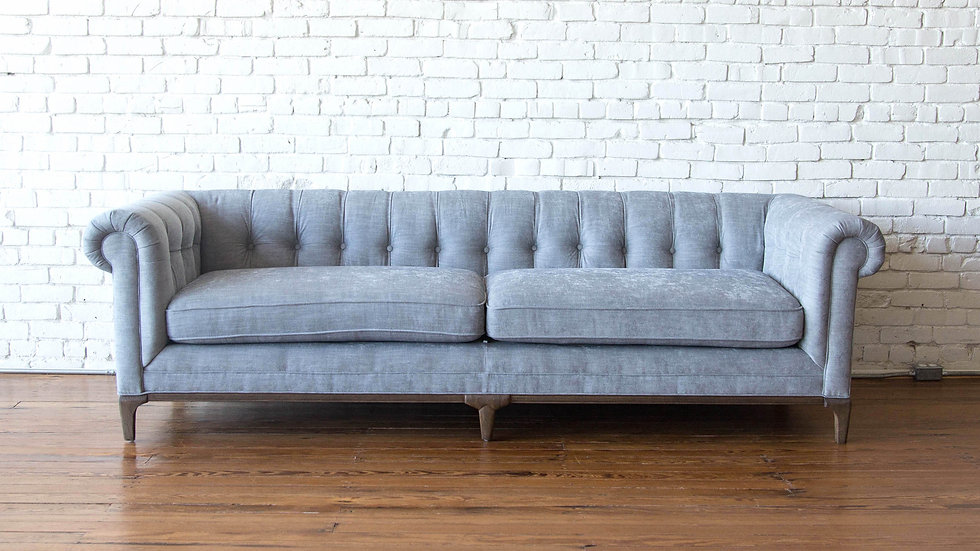 CHARLESTON SOFA - ASPEN GREY | Now available at Birch and Brass