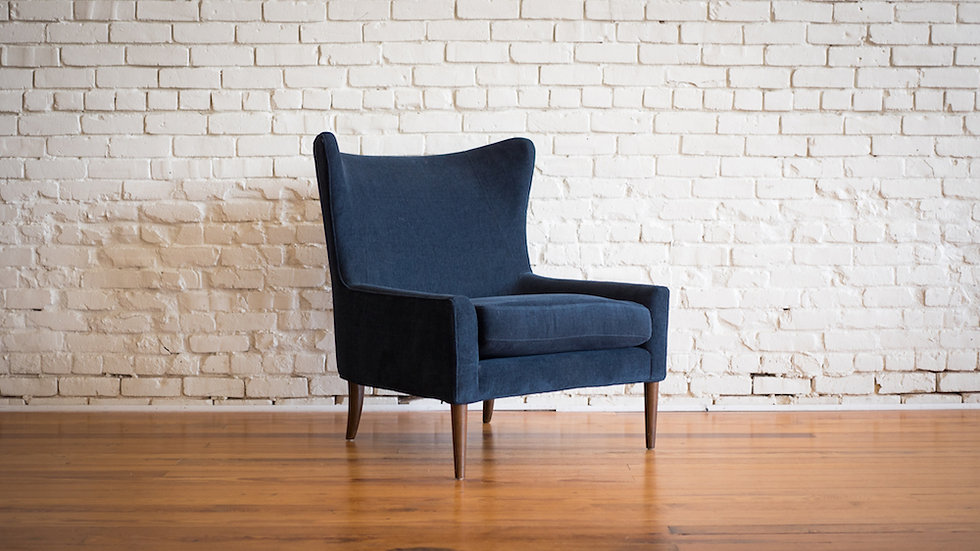 CASSIDY WING CHAIR | Now available at Birch and Brass