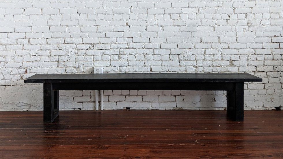 BLACK FARM BENCH | Now available at Birch and Brass