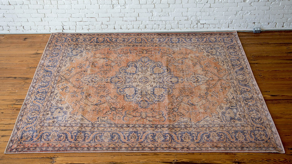 COPPER VINTAGE RUG | Now available at Birch and Brass