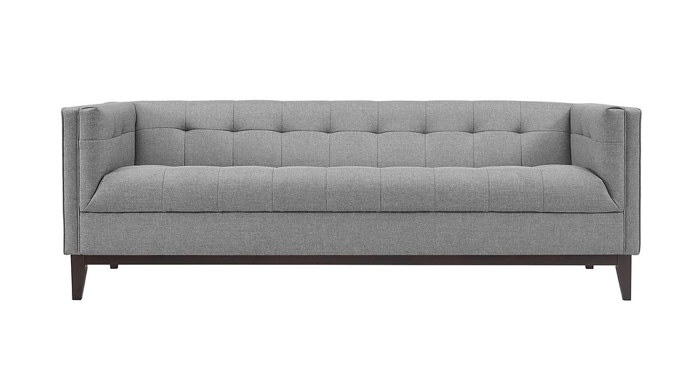AMOS SOFA - GREY |  Now available at Birch and Brass