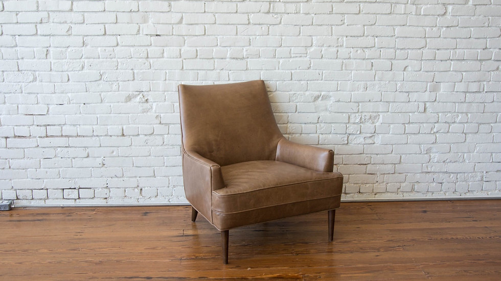 QUINN CHAIR - CAMEL | Now available at Birch and Brass