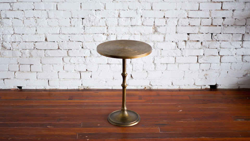 LEXA SIDE TABLE | Now available at Birch and Brass
