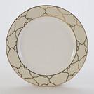"10 1/2"" Firenze Ivory Dinner Plate"