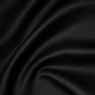 Black Matte Satin