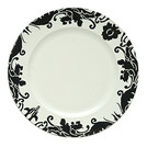 Black & White Baroque Acrylic