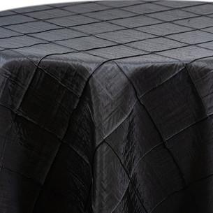 Black Pintuck Taffeta
