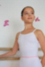 Elastique taille pour position en cours de danse classique enfant ou adulte