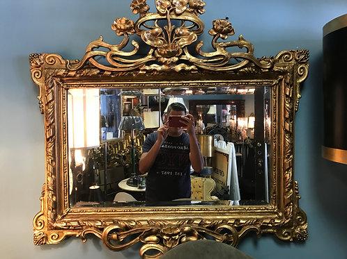 Art Nuevo Guilt Mirror