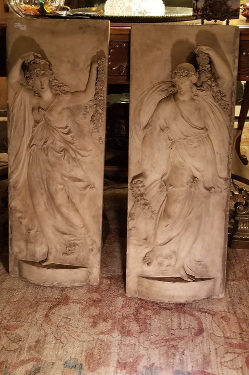 Coade Stone Mantel Pieces