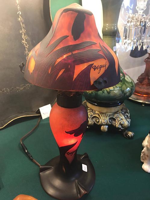 Degue Cameo Glass Lamp