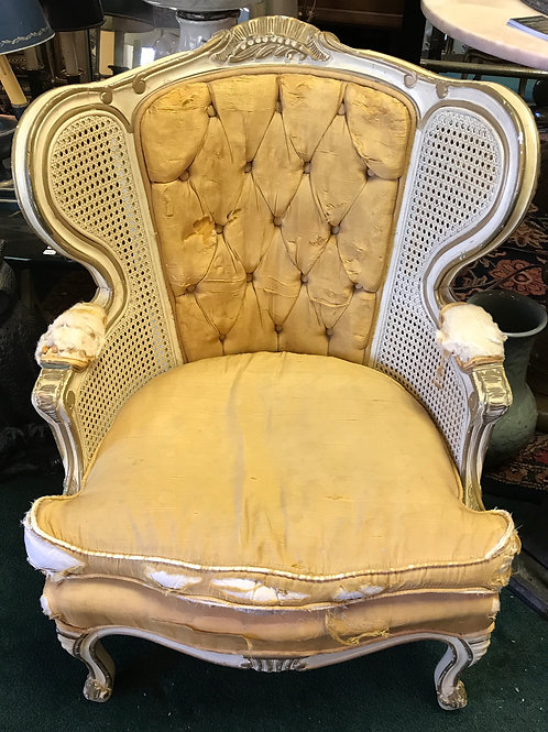 French Provincial Childs Wing Chair