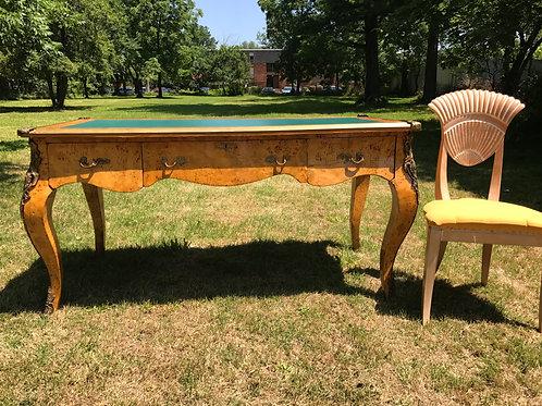 Italian Burlwood Desk