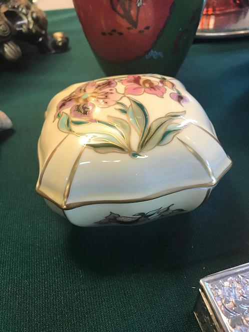 Zsolnay Hungarian Trinket Box
