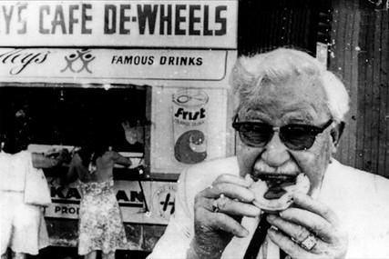 Colonel Sanders, 1972