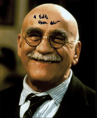 "Harry's long time customer British actor Warren Mitchell - ""Till Death Us Part"""