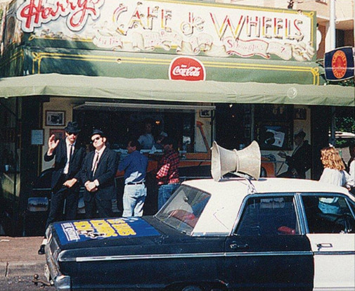 "The Blues Brothers, ""Two Tigers"", Wooloomooloo - 1992"