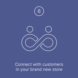 Connect with customers in your brand new store