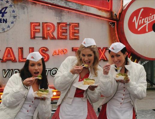 Virgin Mobile girls