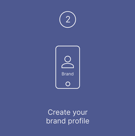 Create your brand profile